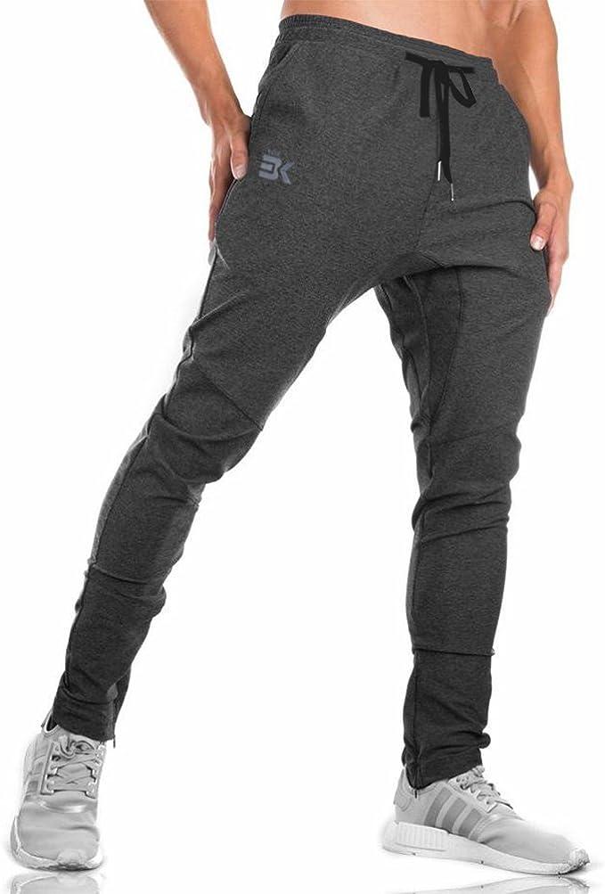 BROKIG Pantalones Deportivos para Hombre Gym Joggers, Pantalones ...