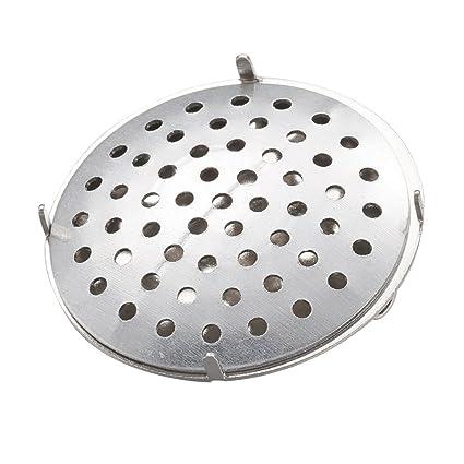 INCREWAY 100 juegos de broche redondo plano con ajuste de disco perforado con broche de hierro