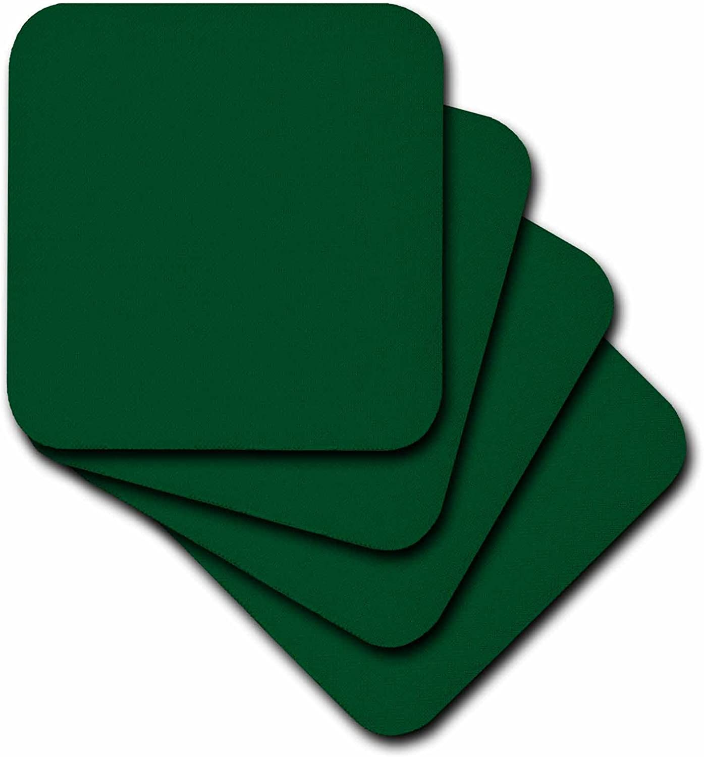 3drose Cst 30643 4 Forest Green Ceramic Tile Coasters Set Of 8 Amazon Co Uk Kitchen Home