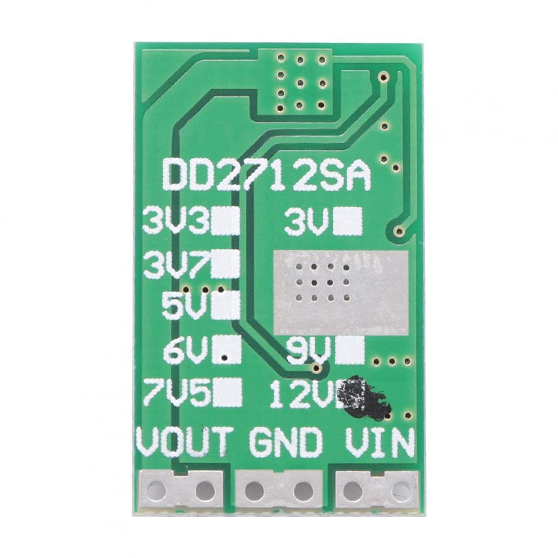 Convertidor de voltaje de 5-27 V a 3,7 V / 5 V / 9 V / 12 V 100% nuevo módulo Buck sensible para reducir la presión(12V)
