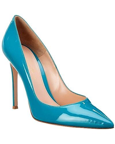 04b1cf998d9b7 Amazon.com   Gianvito Rossi Gianvito 105 Patent Pump, 37 Blue   Pumps
