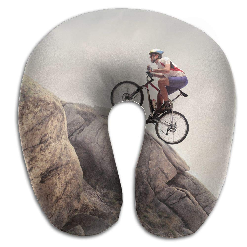 rongxincailiaoke Nackenhörnchen Travel Pillow Climbing Cycle Memory Foam Neck Pillow Comfortable U Shaped Neck Support Plane Pillow Seitenschläferkissen