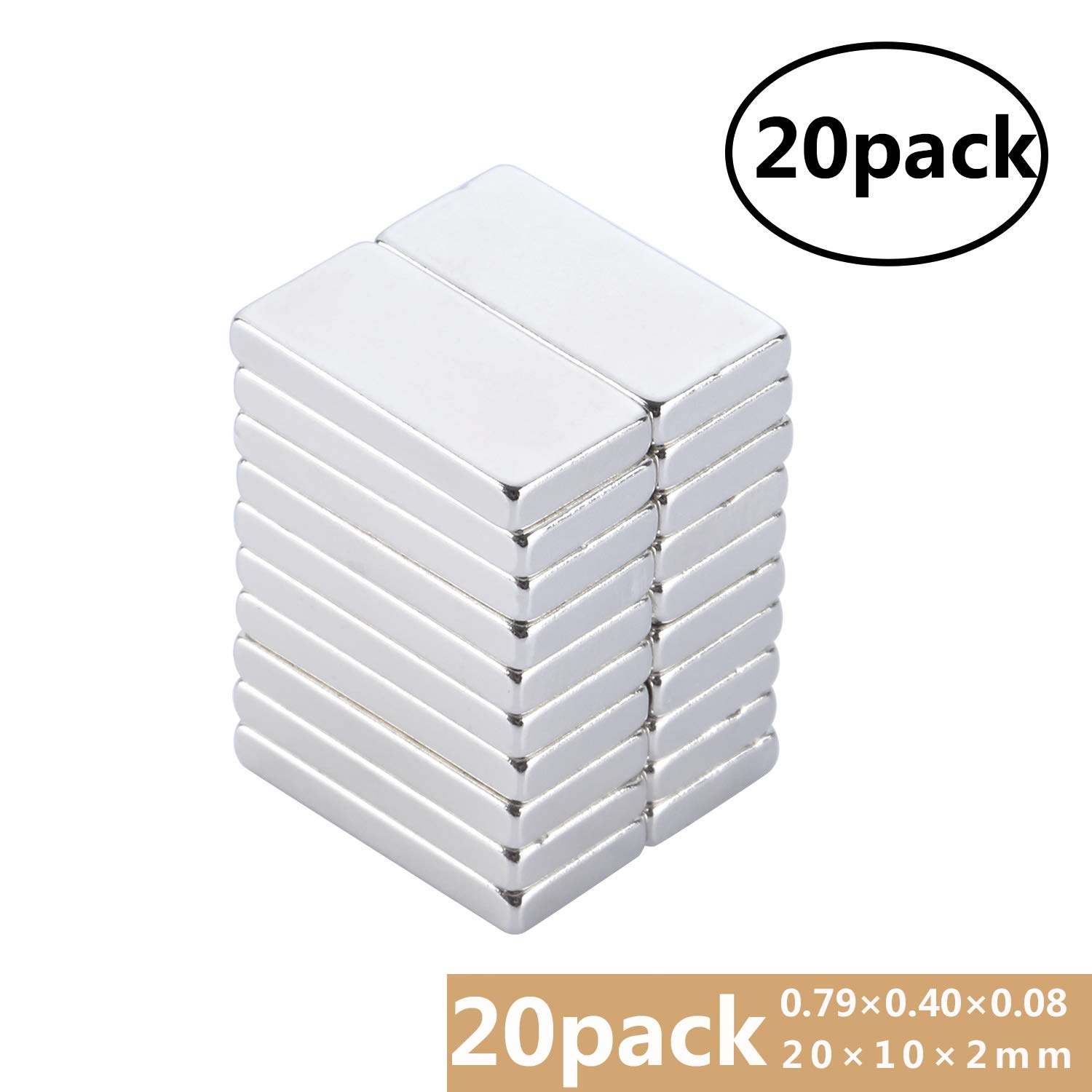 Hobbies Home and Office Yizhet 50 Pcs Neodymium Strong Magnets Cylinder Neodymium Magnet 8mm dia x 1mm thick for Arts Crafts