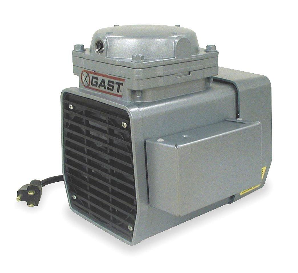 Compressor/Vacuum Pump, 1/3 HP, 50/60 Hz,