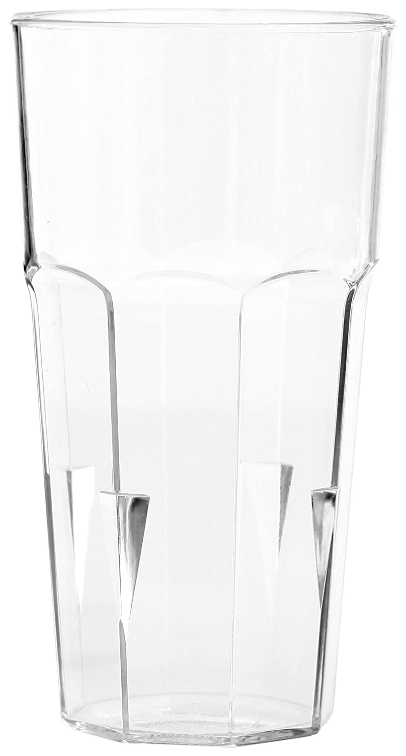 Linden Sweden 17-Ounce Tumbler, Large, Set of 4,Clear INC 428.10.4