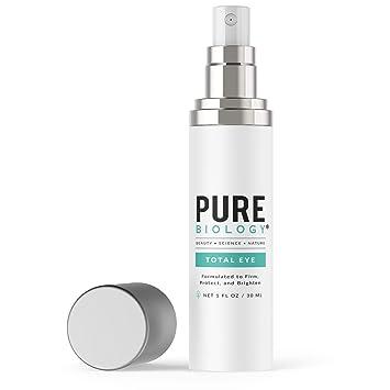 Amazon Com Pure Biology Premium Total Eye Cream Serum Anti