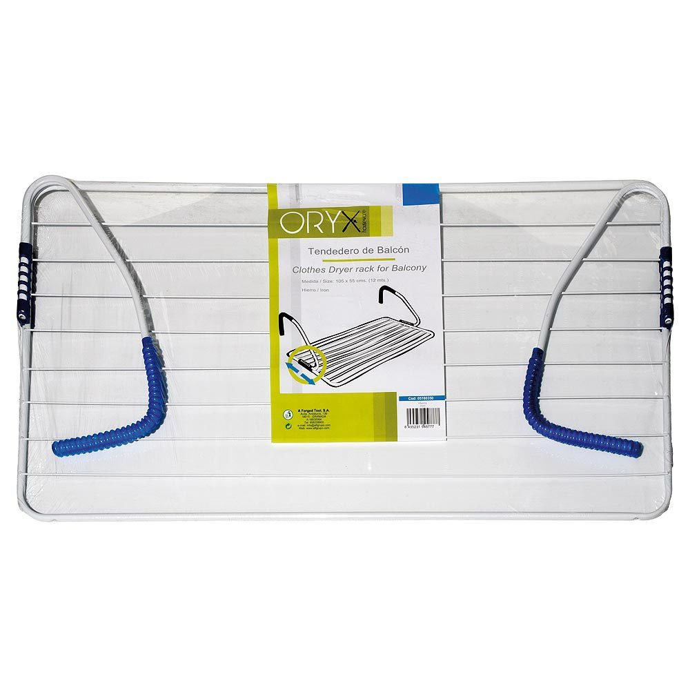 Oryx 5160350 - Tendedero de balcón, acero, 105 x 55 cm, surtido: colores aleatorios: Amazon.es: Hogar
