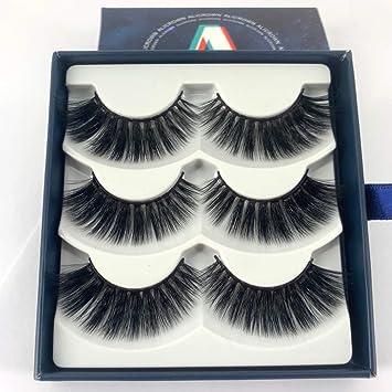 e35e521ba2c ALLURE 3D Lashes Fluffy Thick False Eyelash Pack ... - Amazon.com