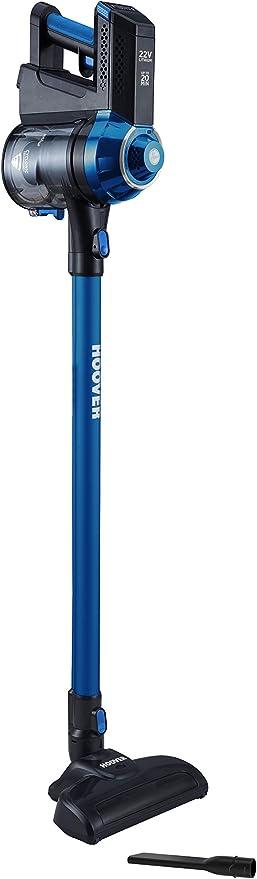 Hoover Freedom FD22L Aspiradora Escoba sin Cable, ciclónica, Cepillo para Suelos Duros y alfombras, Accesorio para rincones, Batería extraíble Litio,20min, Color, 0.7 litros, 76 Decibelios, Azul/Negro: Hoover: Amazon.es: Hogar