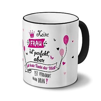 Welt Beste Tante Tasse Mit Spruch Kaffeebecher Geschenk Für