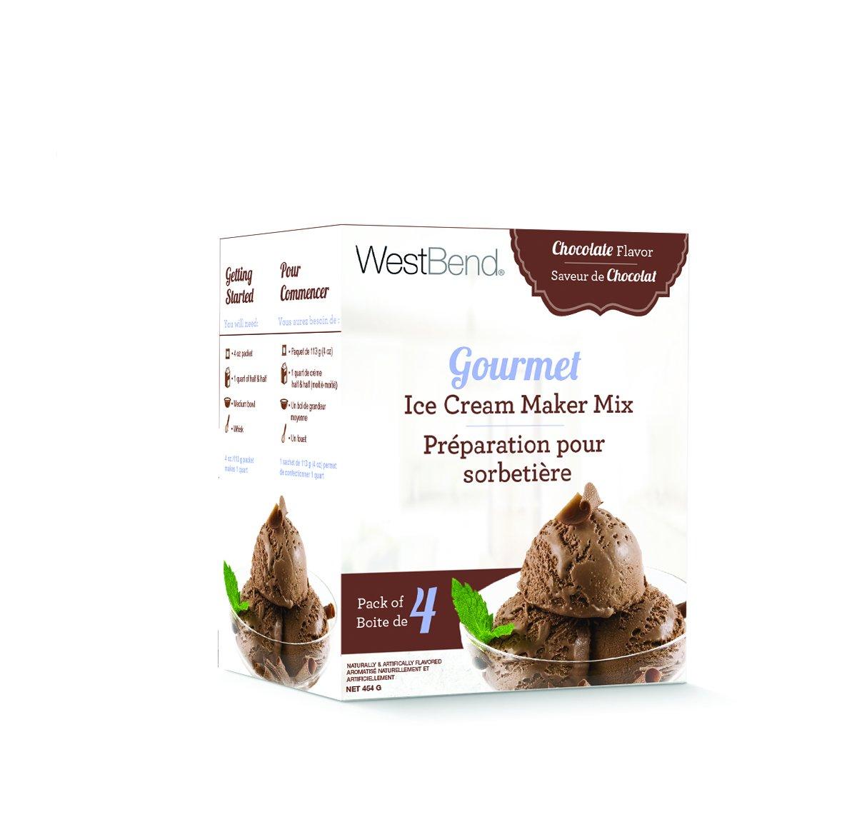 Westbend Gourmet Ice cream maker mix by Focus   B010AJVEHS