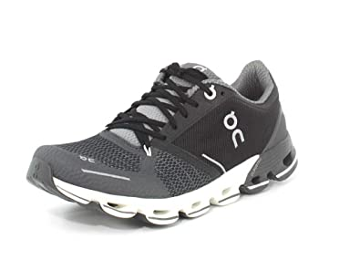 0fc3ef7661 On Running Womens Cloudflyer Black White Running Shoe - 6