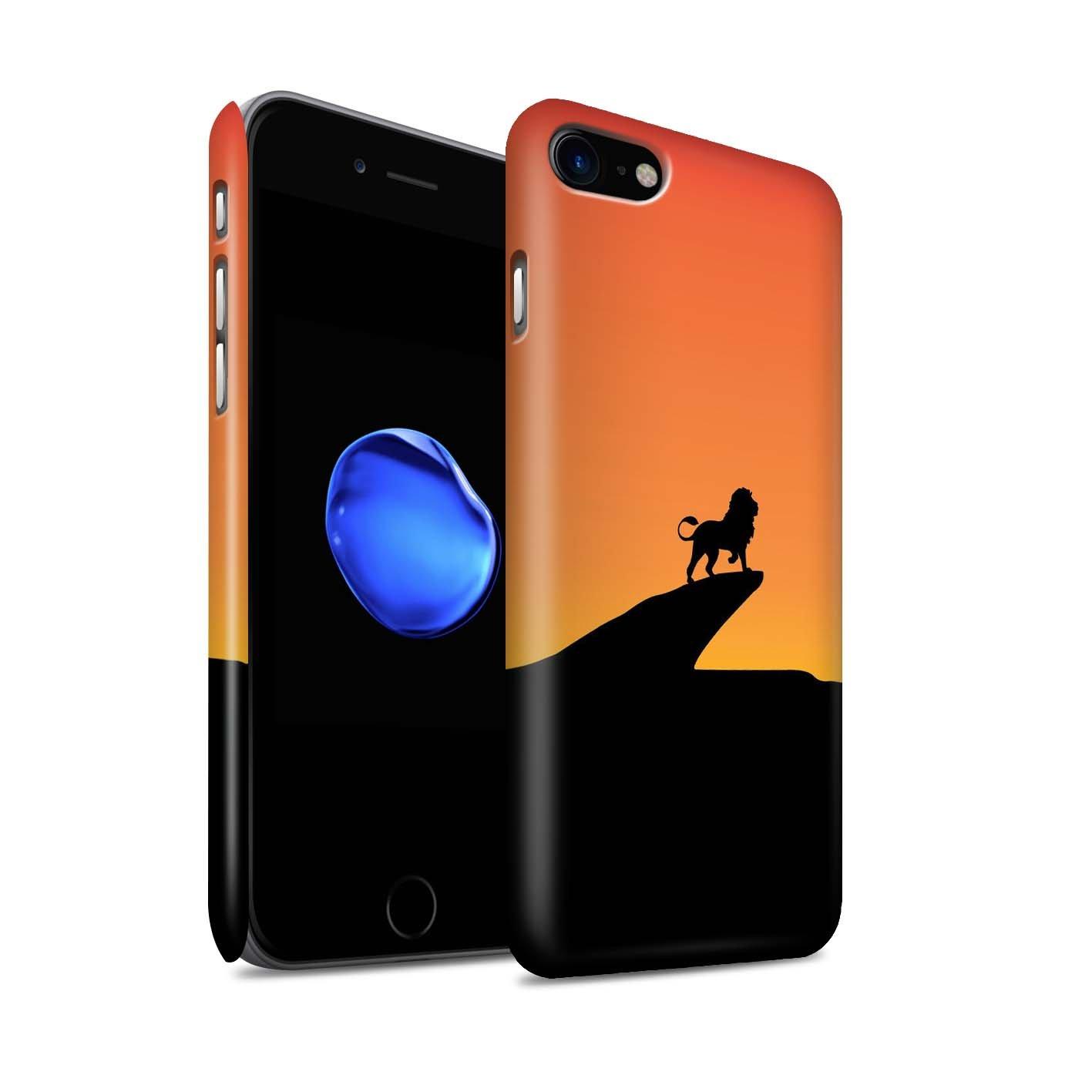 Stuff4® Matte Snap-On Hülle/Case für Apple iPhone 6S+/Plus/Baby Groot Inspiriert Muster/Minimalistische Filmkunst Kollektion
