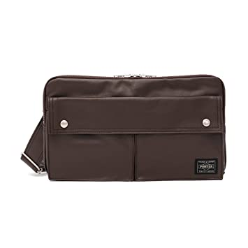 4a390127698 Yoshida Bag Porter Freestyle Shoulder Bag Brown 707-07144: Amazon.ca:  Office Products