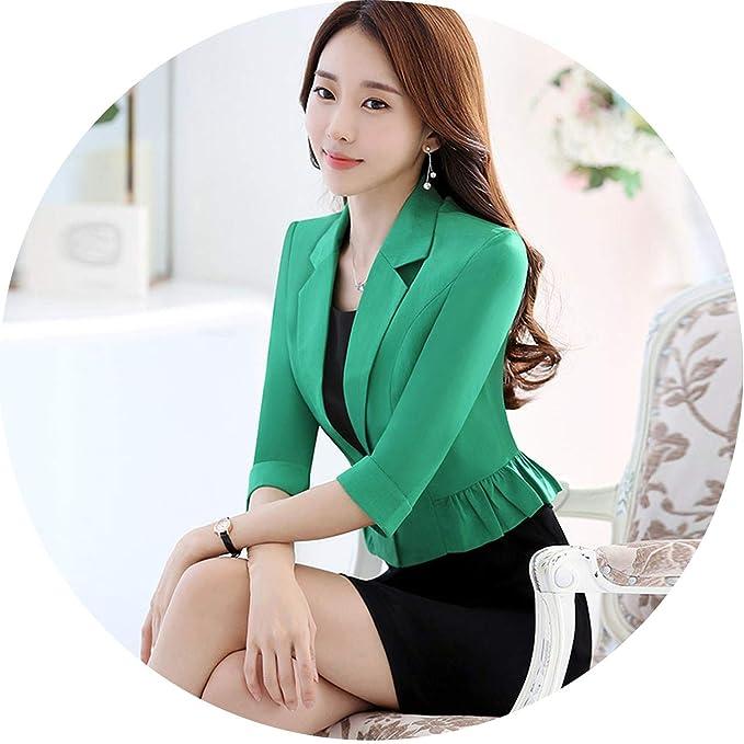 Amazon.com: Blazers y chaquetas de mujer de primavera otoño ...