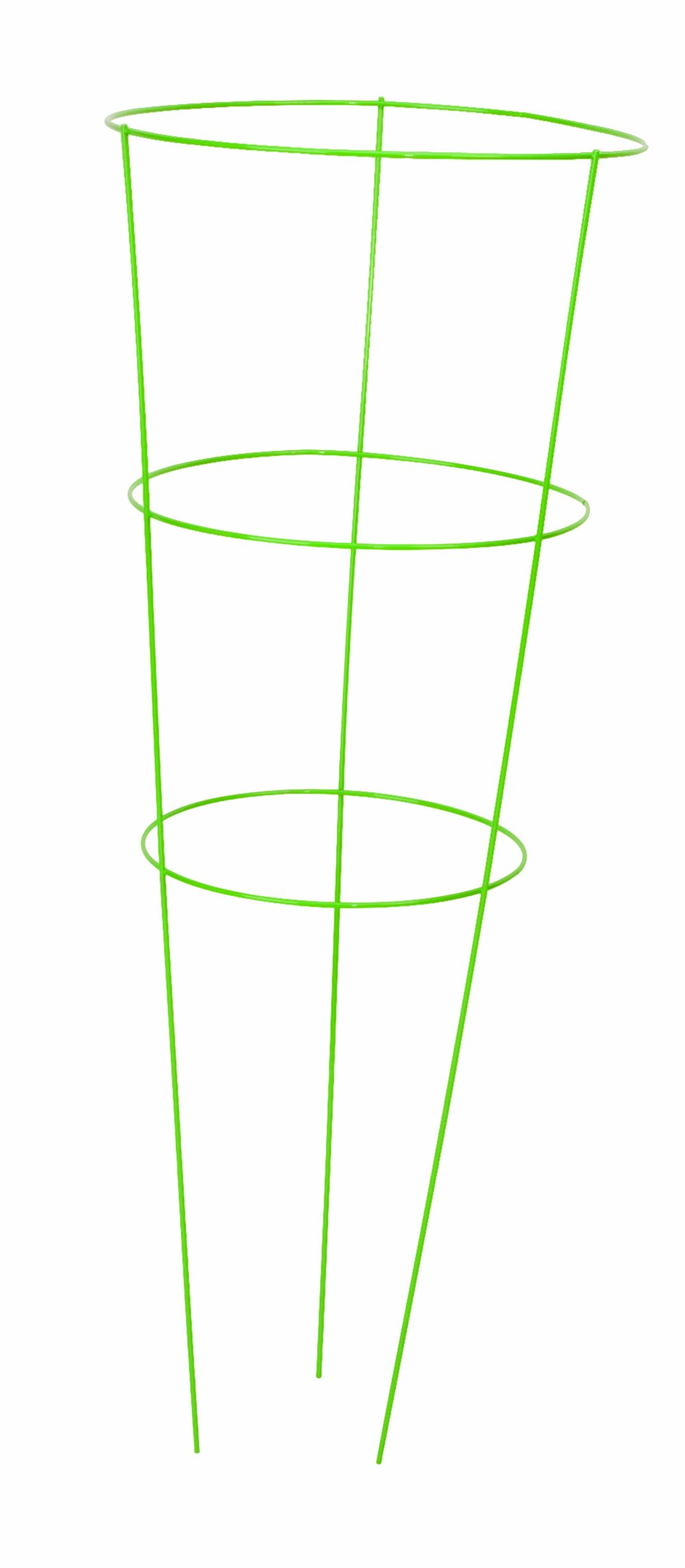 Panacea Products 89772 Heavy Duty Tomato and Plant Support Cage, Light Green, (Pack of 5)