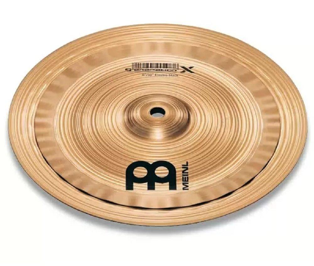 Meinl Cymbals GX-10/12ES Generation X Serie Becken Set Electro Stack 25,4 (10 Zoll) - 30,5 cm (12 Zoll)