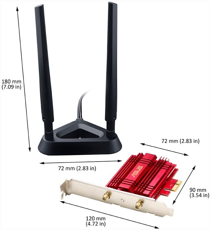ASUS PCE-AC56 PCI Wireless Express Adapter