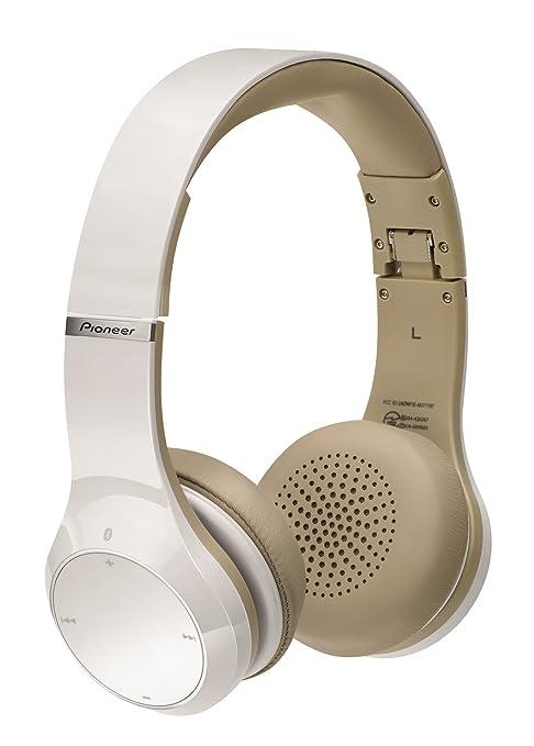 Pioneer SE-MJ771BT-W - Auriculares (microfono, Bluetooth), Blanco: Amazon.es: Electrónica