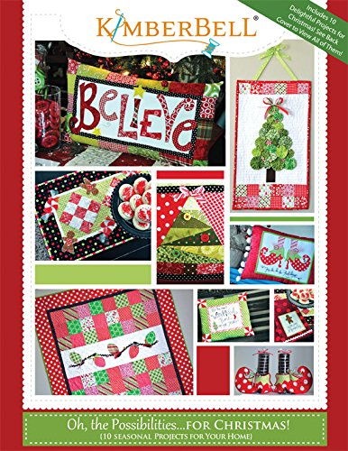 Kimberbell KD706 Oh, the Possibilities for Christmas Pattern book