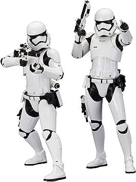 Star Wars Stormtrooper First Order Pack 2 Figuras, 18 cm (Bandai SW107): Amazon.es: Juguetes y juegos