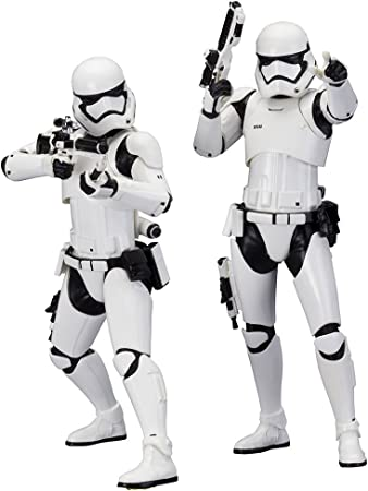 Star Wars Stormtrooper First Order Pack 2 Figuras, 18 cm (Bandai ...