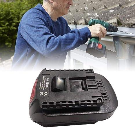 Adaptateur pour utiliser BOSCH batteries avec Dewalt Outils électriques anciennes type