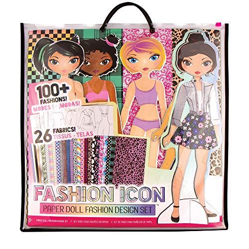 - Fashion ICON Paper Doll Fashion Design Kit