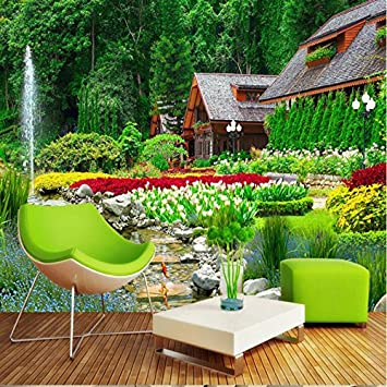 Sykdybz 3D Natur Landschaft Hintergrund Für Das Wohnzimmer Home Improvement  Foto Moderne Hintergrund Wandmalerei Wandmalerei Silk