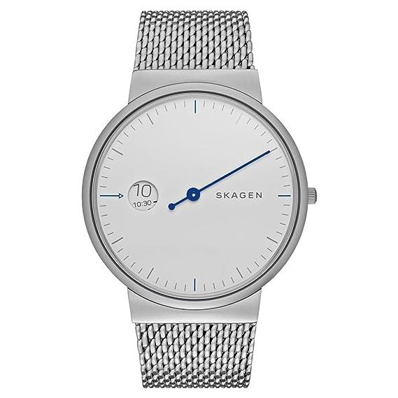 Skagen - Reloj de Pulsera analógico para Mujer Cuarzo Acero Inoxidable skw6193: Amazon.es: Relojes