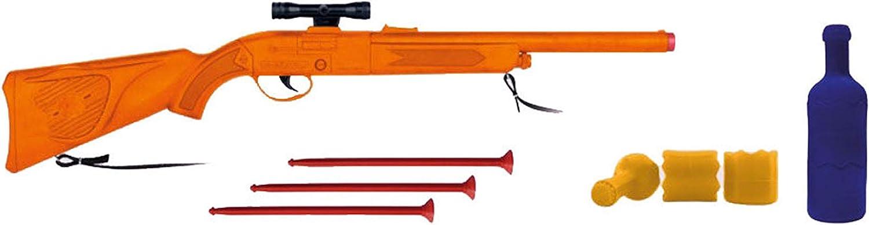 Gonher- Shooting Botellas, Color Naranja, 66.5 x 24 x 6.5 cm (Gonher909/0)