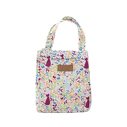 fc83dfb2e0d4 Amazon.com: Lunch Box Cute Animal Thermal Insulated Tote Cooler Bag ...