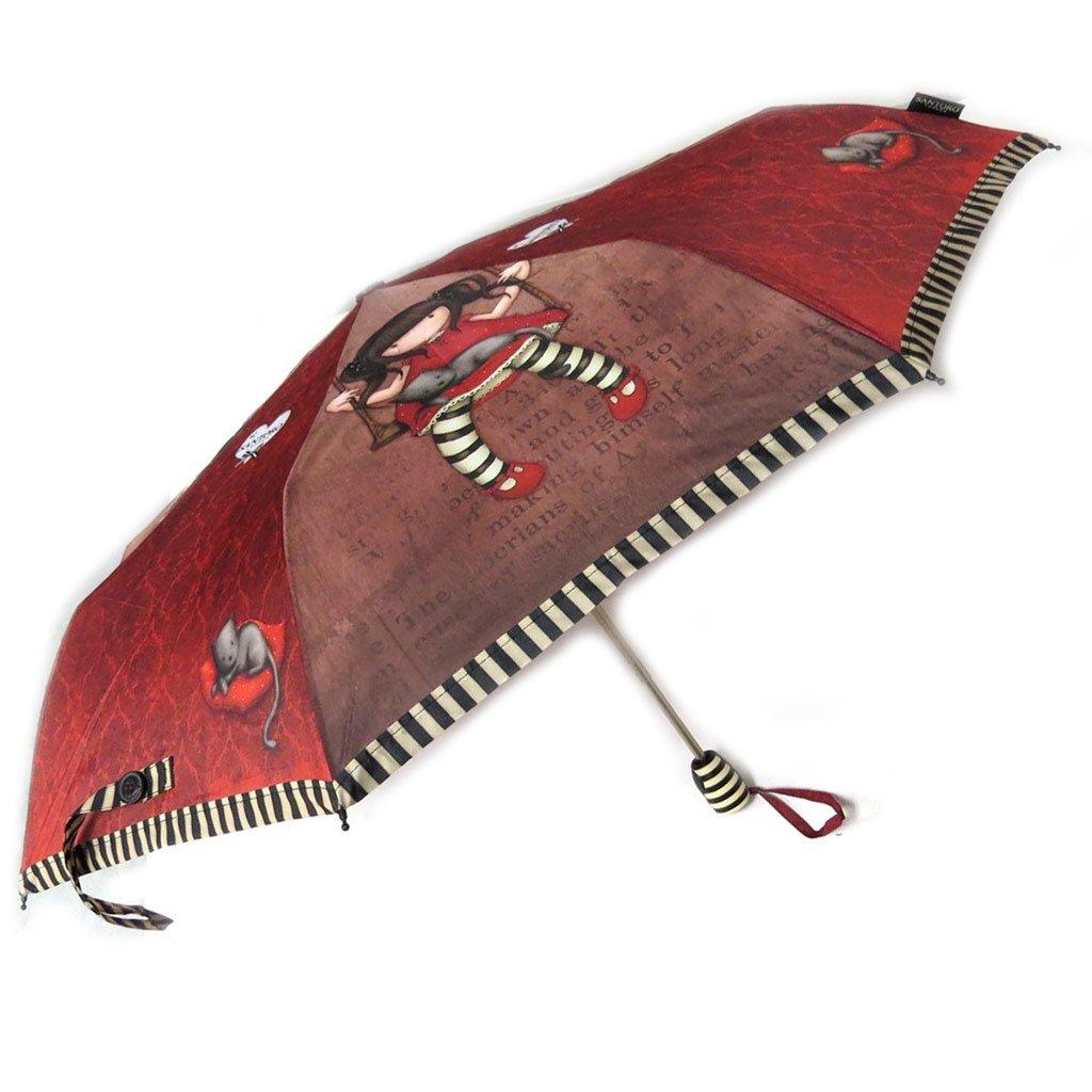 Paraguas automático Gorjuss Santorode color marrón rojizo - 27,5 cm.: Amazon.es: Equipaje