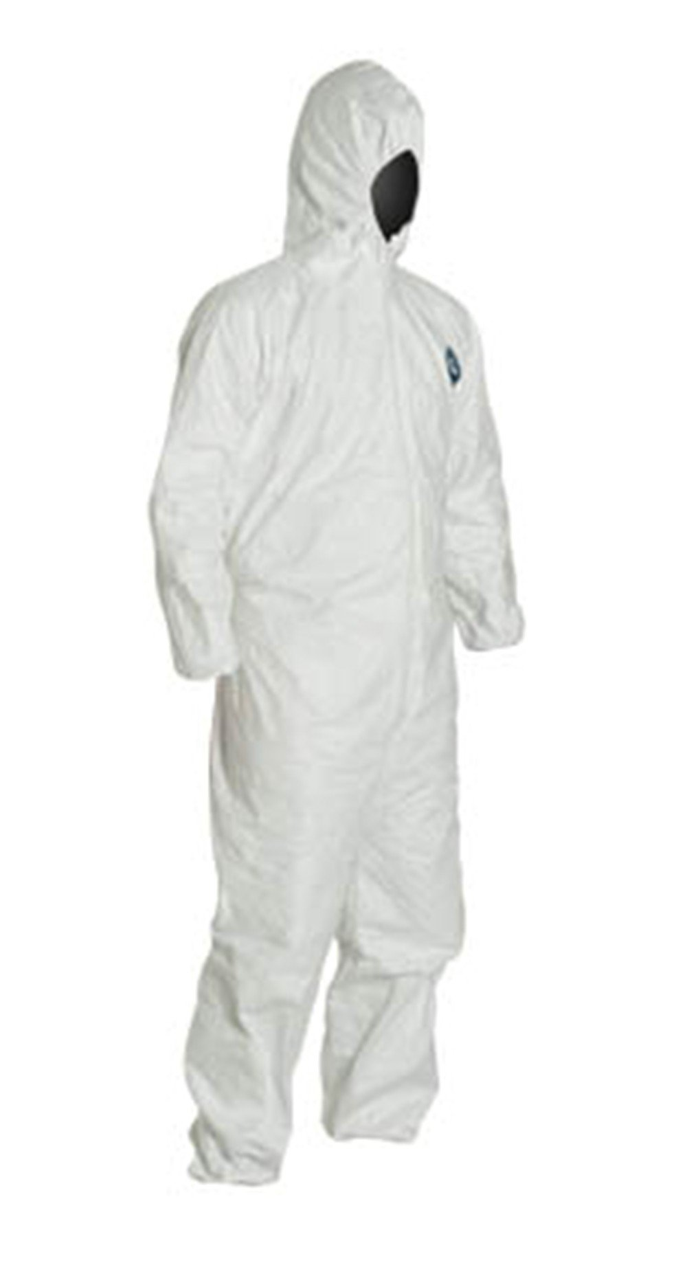 2XL Tyvek Coverall W/ Hood, Zipper, Elastic Wrist & Ankle (2XL-10 Suits) TY127S WH - 2XL - 10 by Tyvek (Image #2)