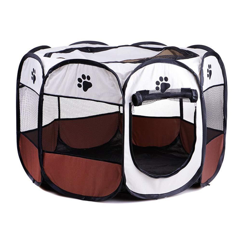 Letto per Animali Domestici alla Moda Gabbia per Box per Animali da Interno Esterno. Miglior Esercizio per Il Tuo Cane, Gatto, Coniglio, Cucciolo, Portatile per Un Viaggio Facile Coprimaterasso Rim