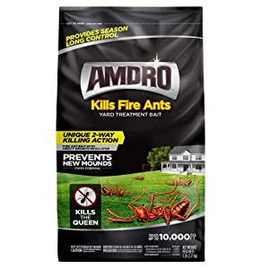 Amdro 100511025 Fire Ant Yard Treatment Bait, 5 Pound