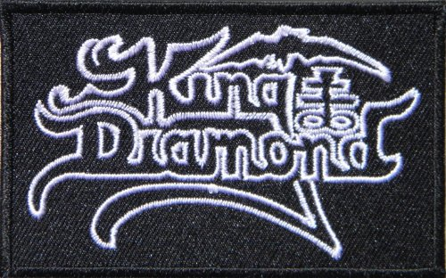 King Diamond Music Band Heavy Metal Rock Punk Logo T shirt Jacket Patch Sew Iron on Embroidered (Heights King Poster)