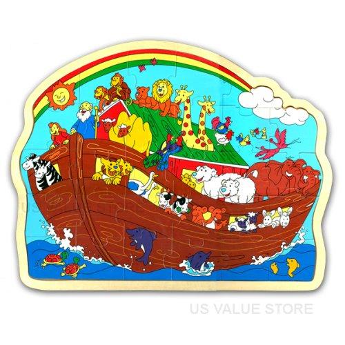 Noah's Ark Wooden Puzzle