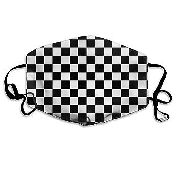 Racing Party Favors 12 Pack Checkered Flag Bandanas