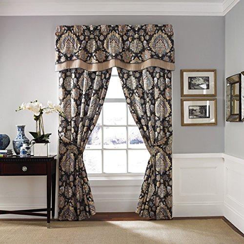 Croscill Blythe Curtain Panel Pair | Mad - Croscill Stripes Valance Shopping Results