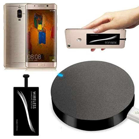Amazon.com: Gotd Qi Wireless Charger Pad + Type-C Wireless ...