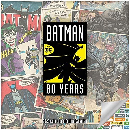 Amazon.com: Calendario de Batman 2020 – Calendario de ...