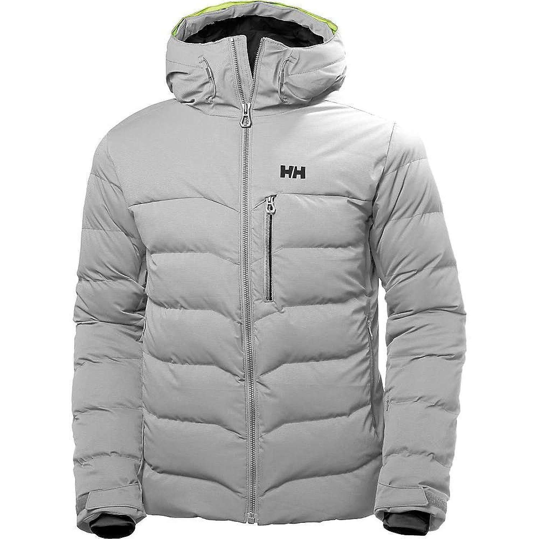 ヘリーハンセン アウター ジャケットブルゾン Helly Hansen Men's Swift Loft Jacket Light Grey [並行輸入品] B07B4TV5L6 Large