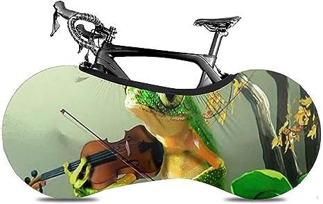 Cubierta De Rueda De Bicicleta,Frog Play The Violin Jungle ...