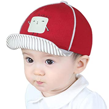 a66ad641a2f3d Feiscat 子供帽子 可愛い 男の子 ハット 赤ちゃん帽子 女の子 新生児 ベビー ハット 夏 赤ちゃん キャップ おしゃれ