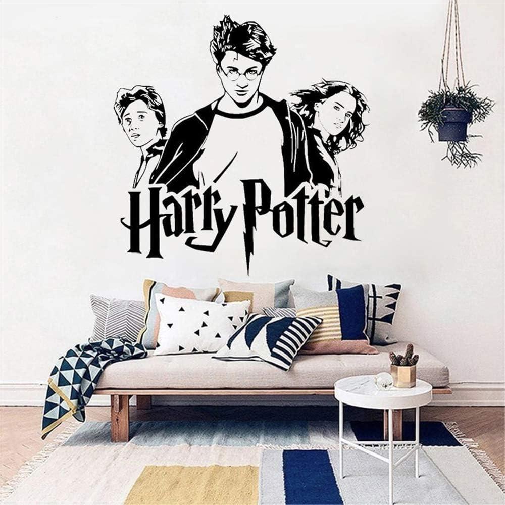Harry Potter Trio Ron Hermione Vinyl Wall Decal Hogwarts Art