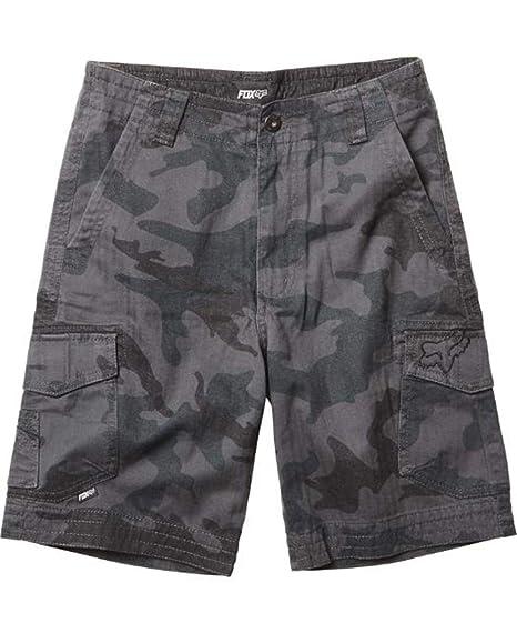 eef4b5b7d7 Amazon.com: Fox Racing Youth Slambozo Camo Cargo Shorts (28) (GREY ...