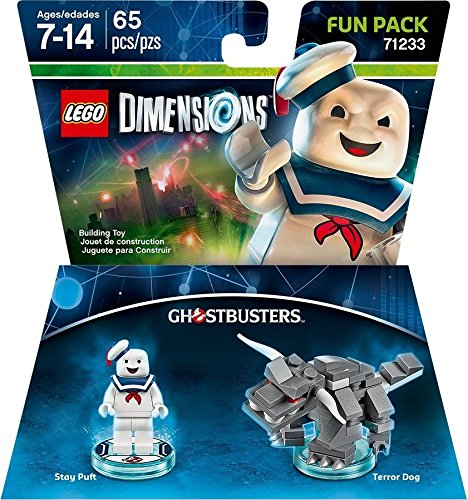 Ghostbusters Stay Puft Fun Pack Dimensions product image