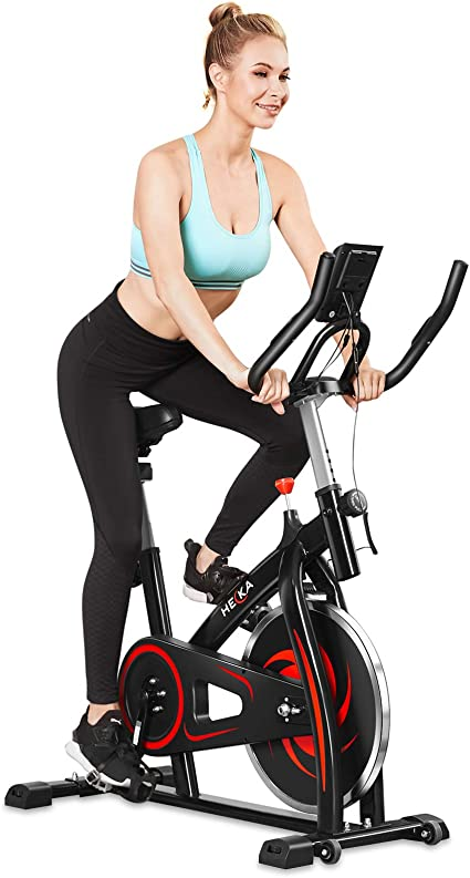 Adjustable Bike Indoor Exercise Bikes Gym Training Cycle Home Fitness Workout