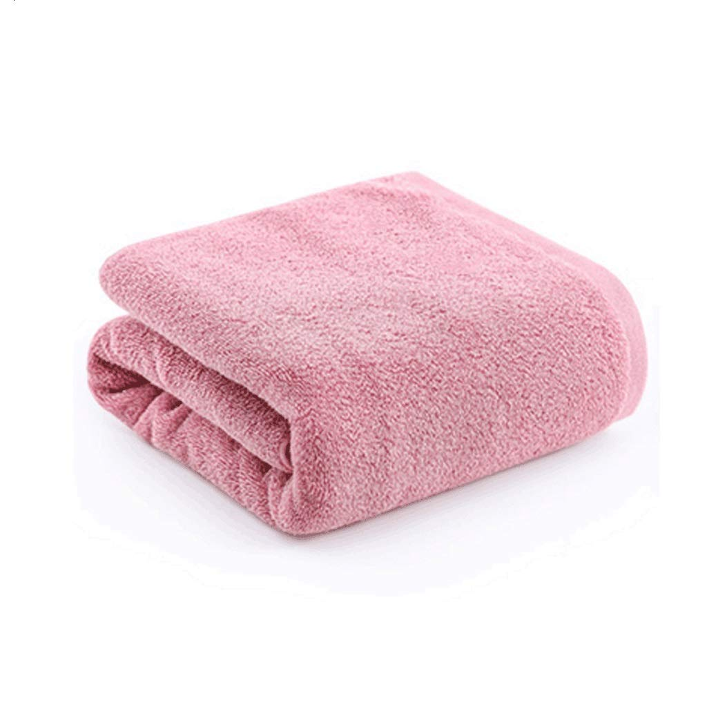 King Boutiques Bath Towel Cotton Thickening Large Bath Towel Adult Men and Women Home Medium Weight Soft Strong Absorbent Towel(14070CM) Bathroom Supplies (Color : Pink)